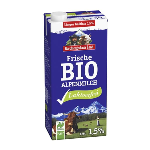 Leche fresca sin lactosa 1l