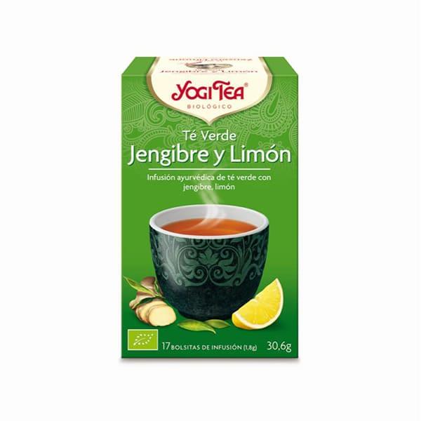 Té verde con jengibre y limón ECO