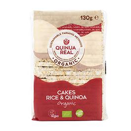 Soffiette de arroz y quinoa ECO