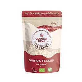 Copos de quinoa real 250g ECO