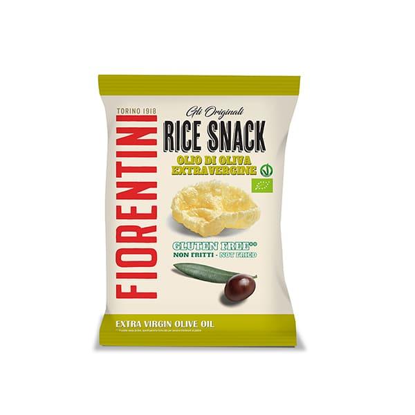 Snack de arroz con aceite de oliva 40g ECO