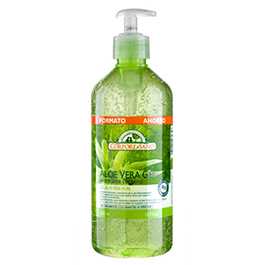 Gel aloe vera 99.9% c/dispensador 500ml