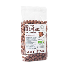 Bolitas de cereales con chocolate 250g