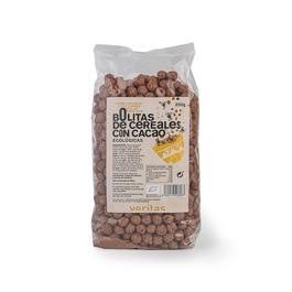 Boletes de cereals amb xocolata 250g ECO