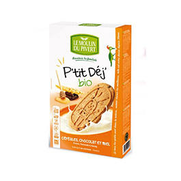 Galletas Cereal miel Choc 190g ECO