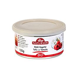 Paté vegetal de tofu y tomate 125g