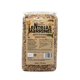 Llenties marrons 500g ECO