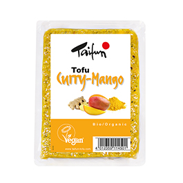 Tofu con curry y mango 200g