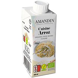 Crema de arroz para cocinar 20cl