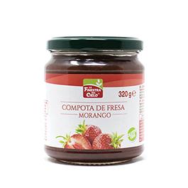 Compota de manzana y fresa 200g