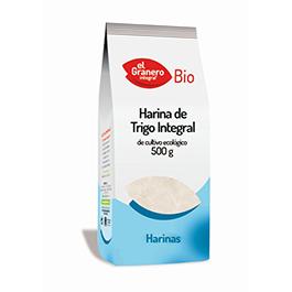 Harina de trigo integral 500g