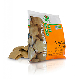 Galletas de arroz sin gluten 200g