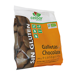 Galletas de chocolate sin gluten 200g