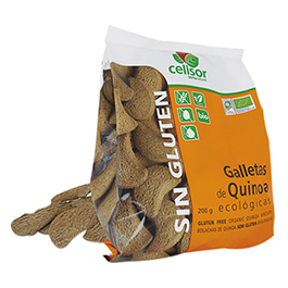 Galletas de quinoa sin gluten 200g