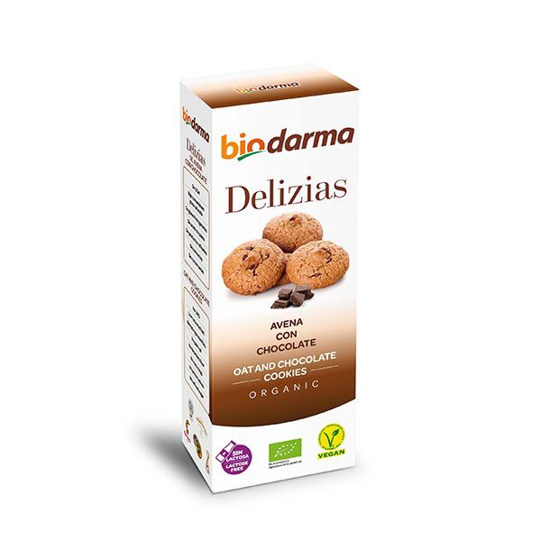 Delizias de avena y chocolate ECO