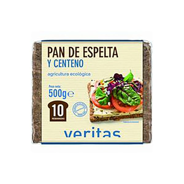 Pan alemán de espelta y centeno 500g ECO