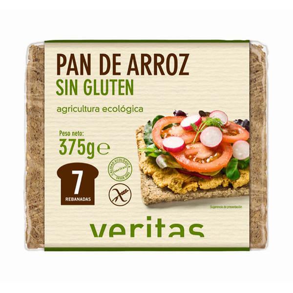 Pan alemán de arroz sin gluten 375g ECO