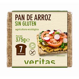 Pan alemán de arroz sin gluten 375g