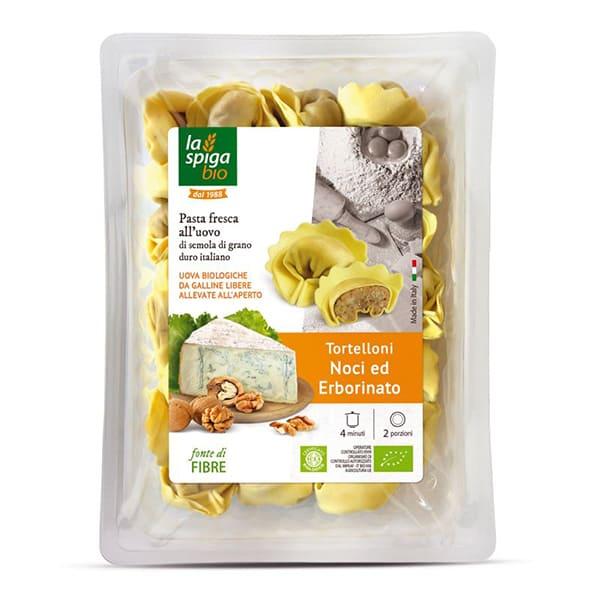 Tortellini de nueces y gorgonzola 250g