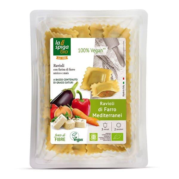 Ravioli vegano de espelta 250g ECO