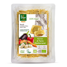 Ravioli vegano de espelta 250g