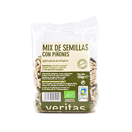 Mix de semillas y piñones 150g ECO