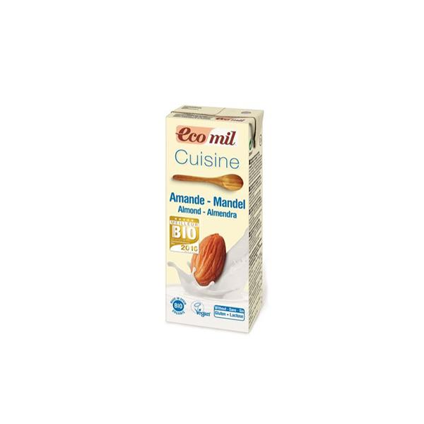 Crema de almendra para cocinar 200ml ECO