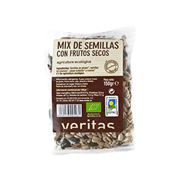 Mix de pipas y frutos secos 150g ECO