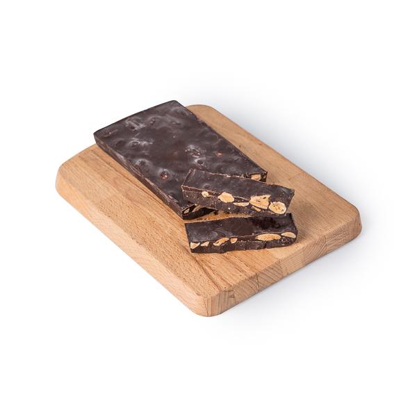 Turrón chocolate c/almendras 200g ECO