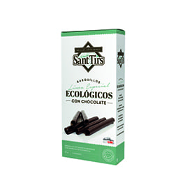 Barquillo de chocolate Sant Tirs 90gr