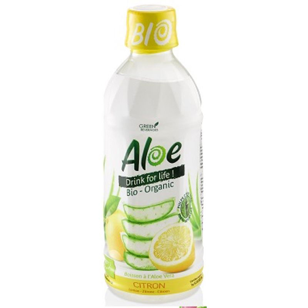 Zumo de aloe vera con limón 350g ECO