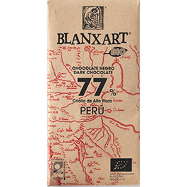 Chocolate negro 77% del Perú 125g ECO