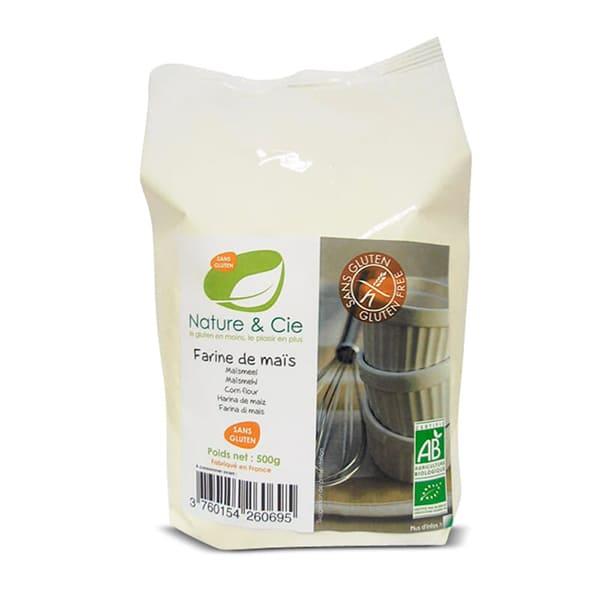 Harina de maíz sin gluten 500g ECO