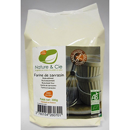 Harina de trigo sarraceno sin gluten
