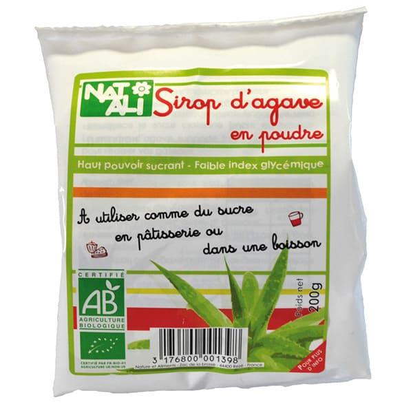 Sirope de agave en polvo 200g ECO