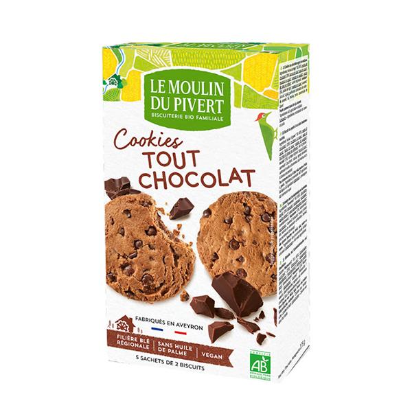 Cookies todo choco con pepitas 175g ECO