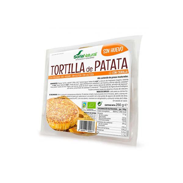 Tortilla patata cebolla vegan ECO