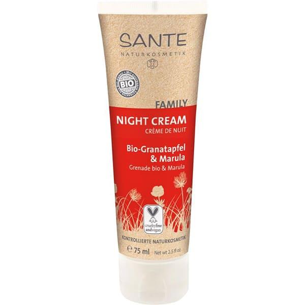 Crema facial de noche de granada 75ml