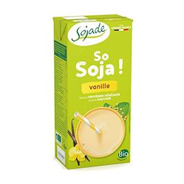 Bebida de soja con vainilla 1l