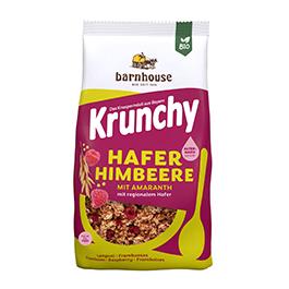 Crunchy amaranto frambuesa y aronia 375g