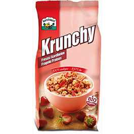 Crunchy de fresa 375g