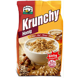 Crunchy con miel 600g