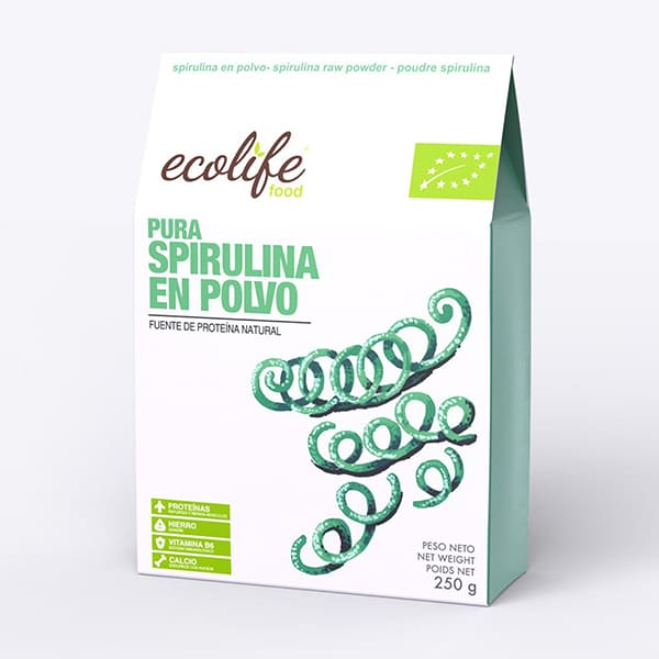 Espirulina en polvo 250g ECO