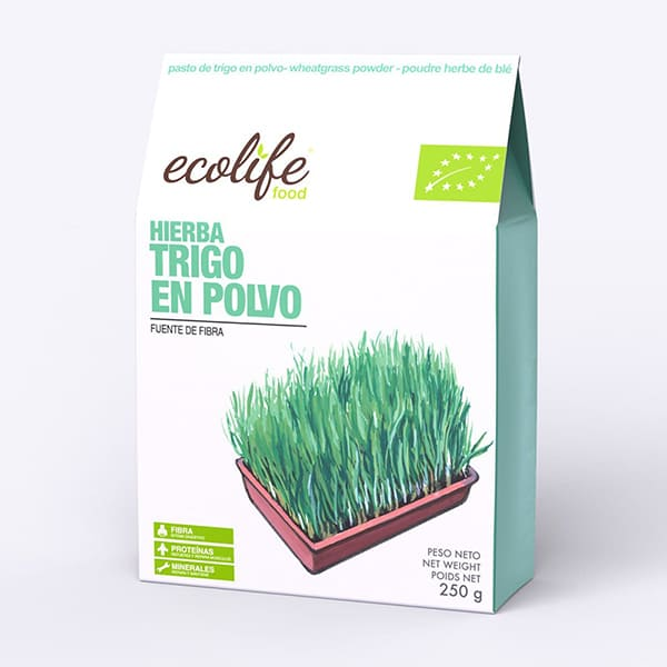 Hierba de trigo en polvo 200g ECO