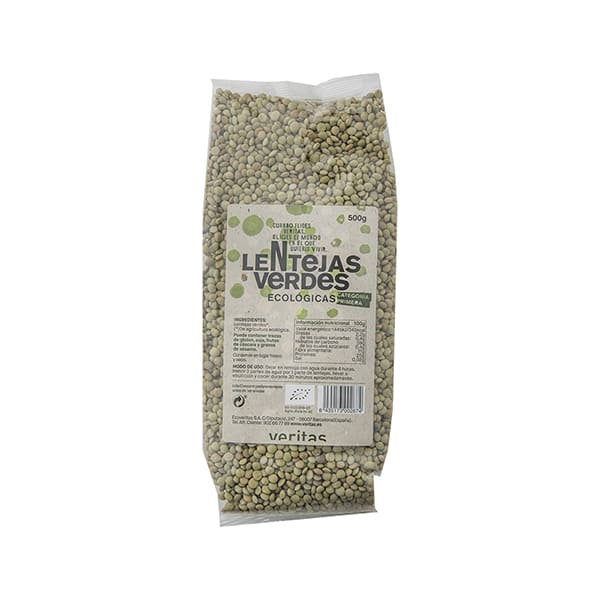 Llenties verdes 500g ECO