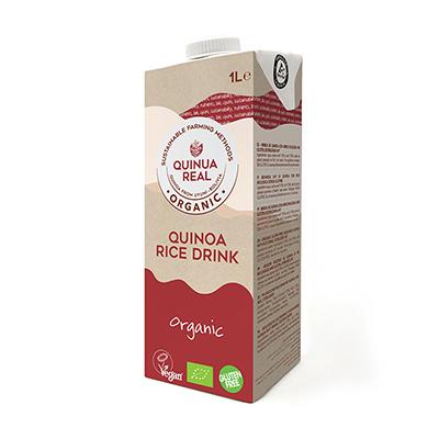 Bebida de arroz y quinoa 1l