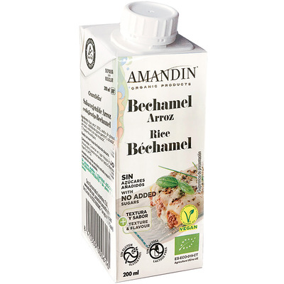 Bechamel de arroz 200ml ECO