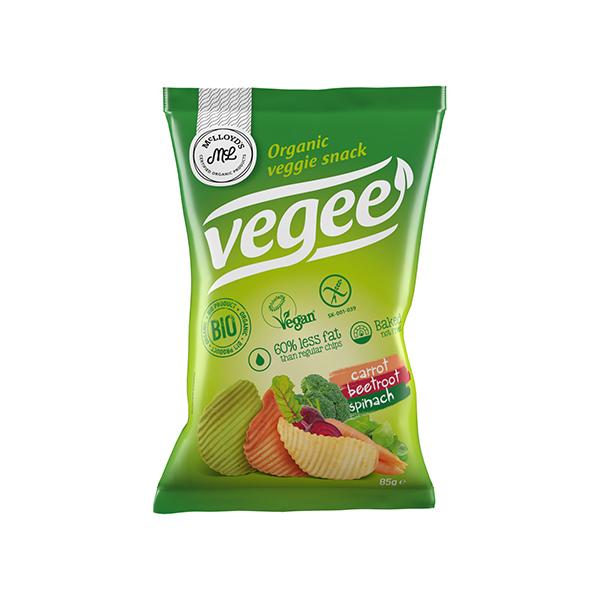 Snack de patata con verdura 85g ECO