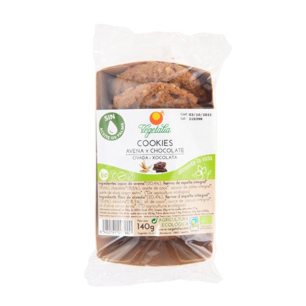 Cookies de avena y chocolate 140g ECO