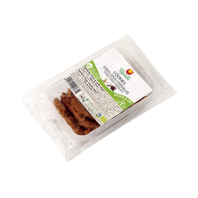 Cookies de avena, coco y chocolate 140g ECO